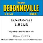 DEBONNEVILLE W. & Fils SA