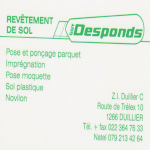 Desponds Guy - Revêtements de sols